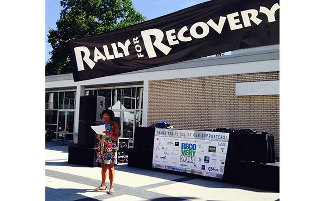 Constance Barnes at Recovery Day 2014
