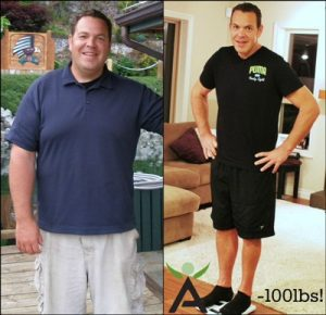 Michael Bellis transformed both physically and mentally through recovery.