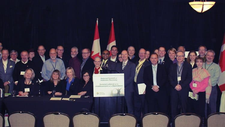 Orchard Recovery Center's Executive Director Lorinda Strang proudly attending Canada's First National Summit on Addiction Recovery in Ottawa, January 27-28, 2015