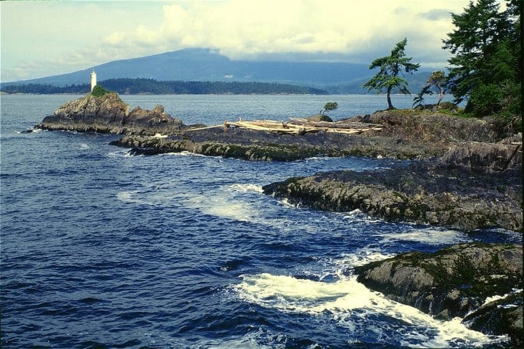Cape Roger Curtis, one of the many scenic ocean walks on Bowen Island.
