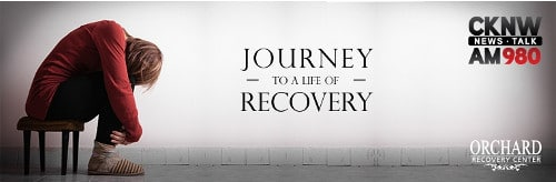 CKNW Journey To A Life Of Recovery Logo