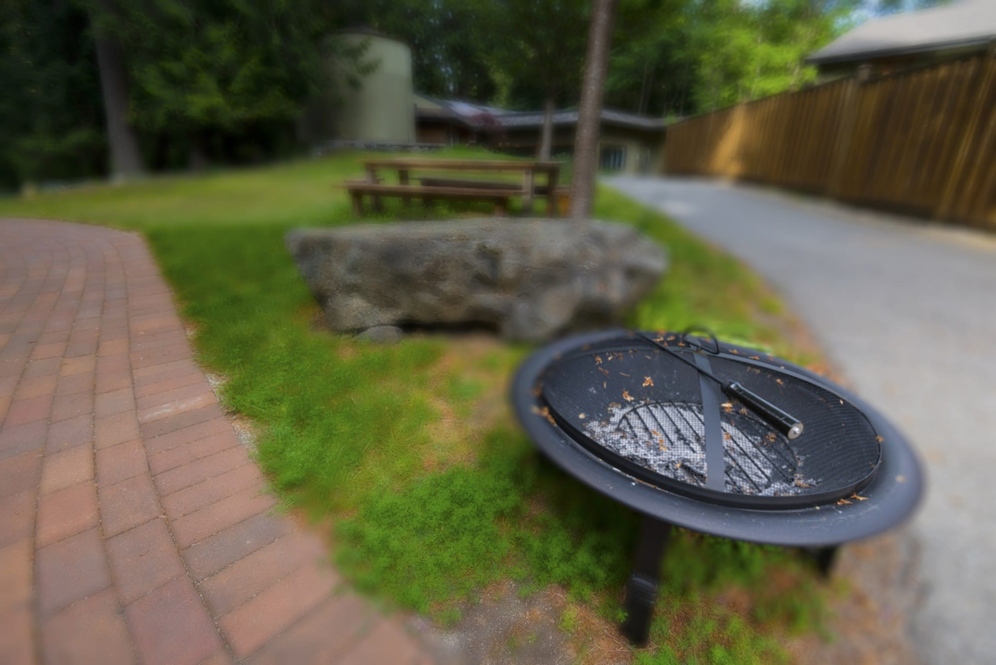 Fire Pit used during spirituality at Orchard Recovery Center, photo copyright Jason Wilde