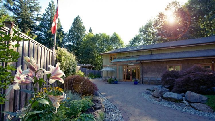 Orchard Recovery Center administration building is where clients start their new journey