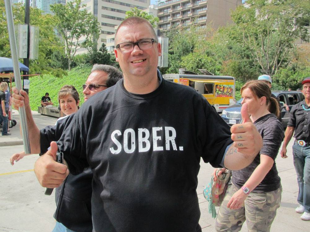 Sober at Recovery Day 2013