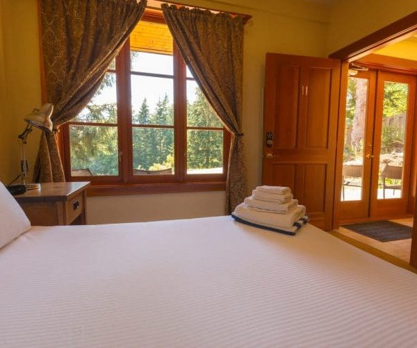 Double bedroom at Orchard Recovery Center Residence