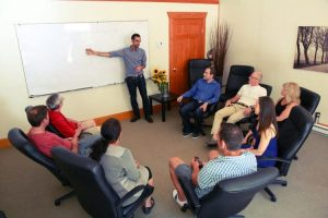 Small Group Sessions are taken by Orchard Recovery Center Counselors