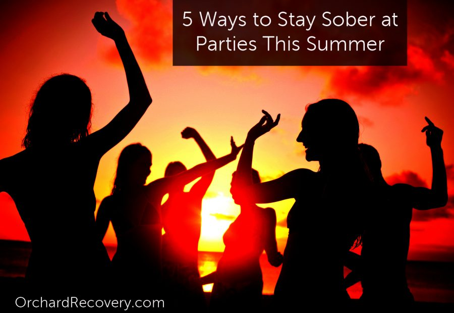 Stay Sober At Summer Parties