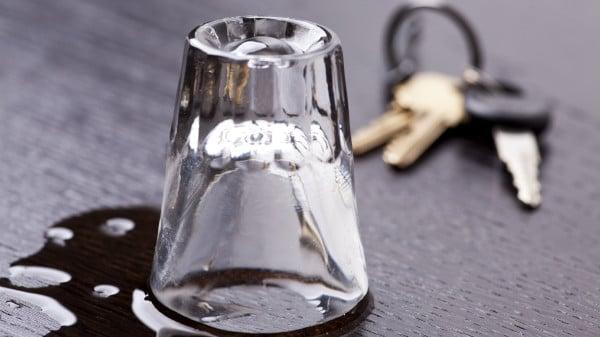 Shot Glass and Keys